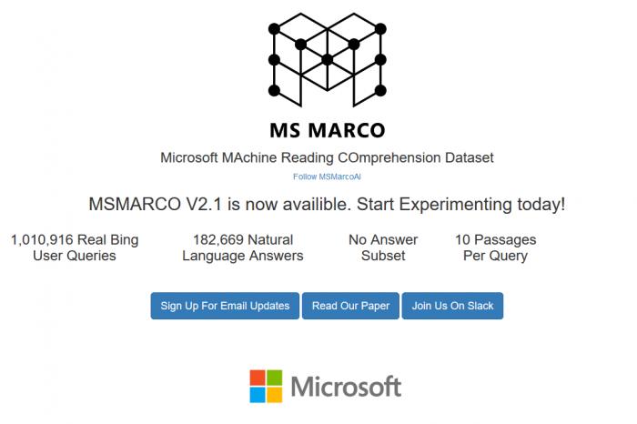 三星AI在微软机器阅读理解挑战中名列前茅