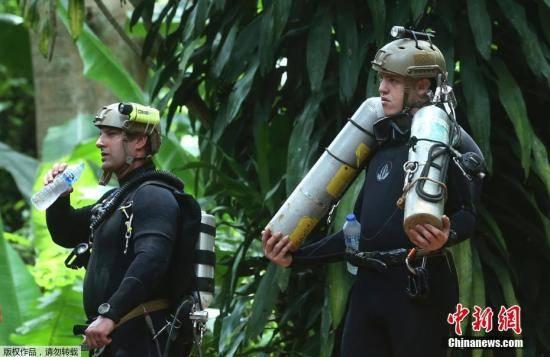 救援持续进行中:泰国被困洞穴的第5名男孩获救