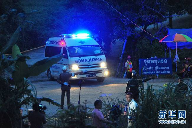 第二批泰国少年足球队员获救(组图)