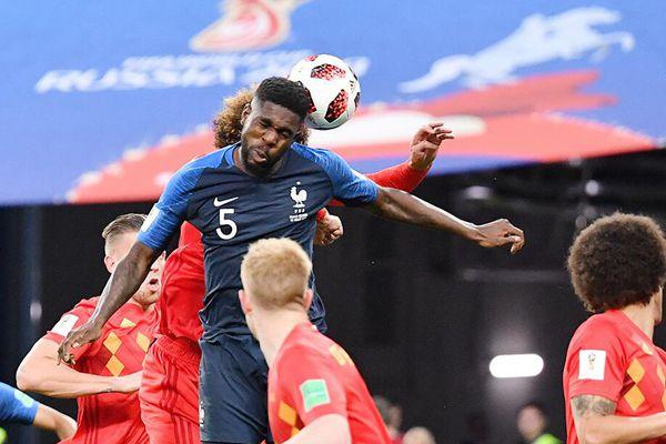 乌姆蒂蒂头槌建功 法国1:0战胜比利时挺进决赛
