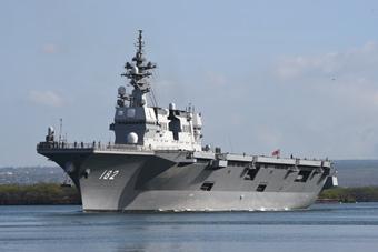 """环太军演开始海上演练 """"人类最强舰队""""出动"""