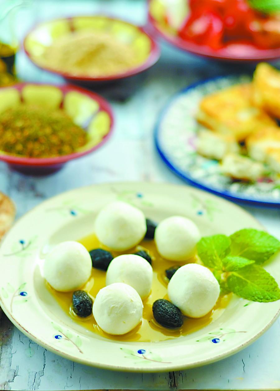 浓缩酸奶球,黎巴嫩人早餐不可缺