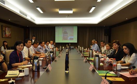 中泰商会特色农产品贸易交流洽谈会在兰举办