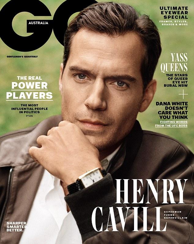 """""""超人""""亨利•卡维尔登《GQ》杂志 坦言仍害怕变胖子"""