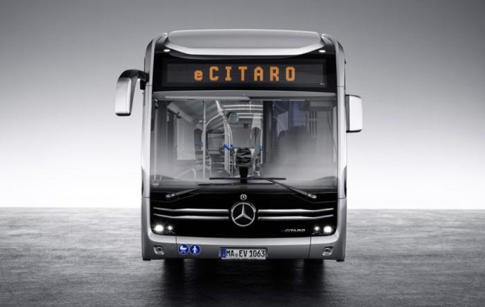 戴姆勒将推eCitaro电动公交车 专为未来城市设计