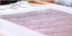 奢侈品的法式刺绣细节工艺