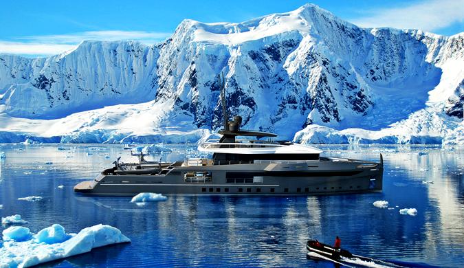 法国Ocea造船厂推出可在极地度假的豪华游艇