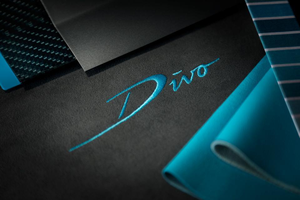 布加迪发布Divo限量超跑预告图 售价500万欧元