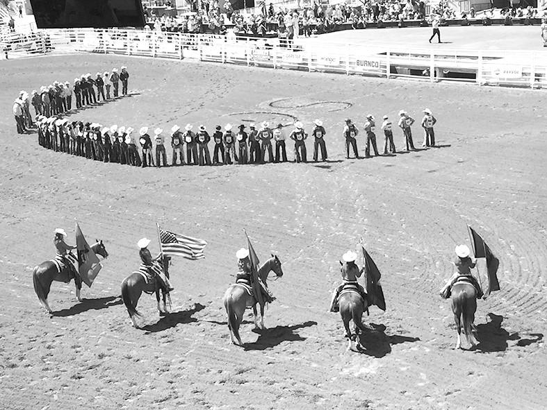 穿上牛仔服到卡尔加里过节