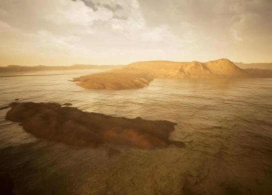 如果火星上有水 会呈现出怎样的景观
