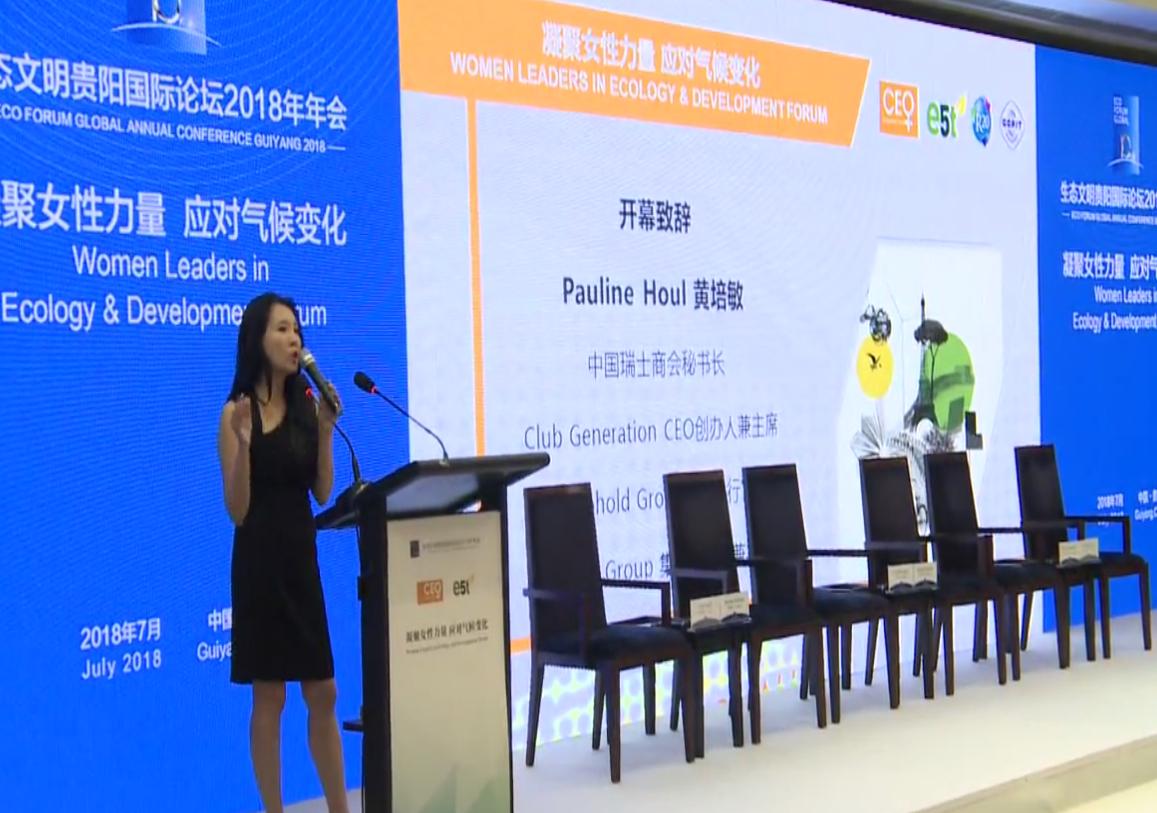 中国瑞士商会黄培敏:推动中欧商会的深层次合作