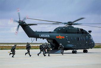 陆航直升机大比武 谁才是最强直升机飞行员