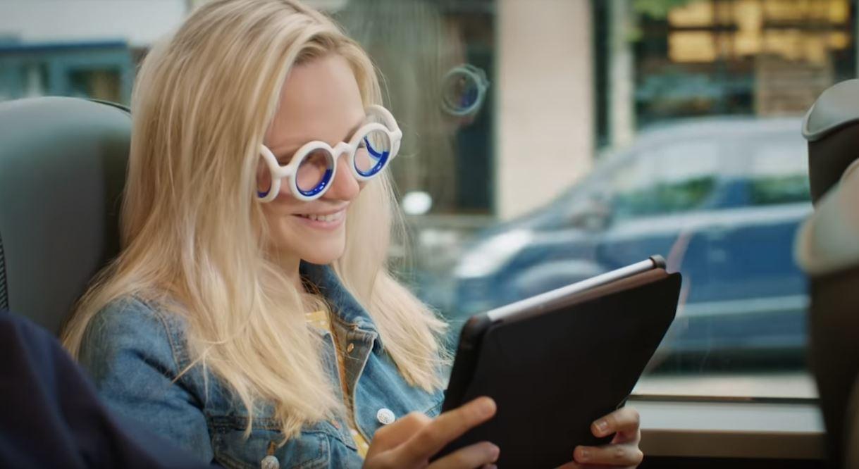 能有效防止晕车 雪铁龙研发创新型无镜片眼镜