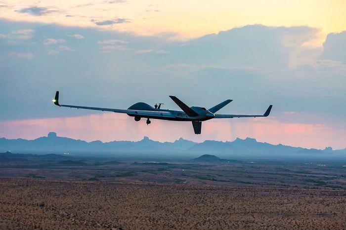 SkyGuardian无人机完成了历史性的跨大西洋飞行