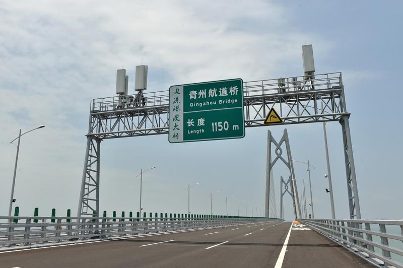 """信息""""大桥""""连通港珠澳"""
