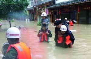 超强暴雨袭击南北多省