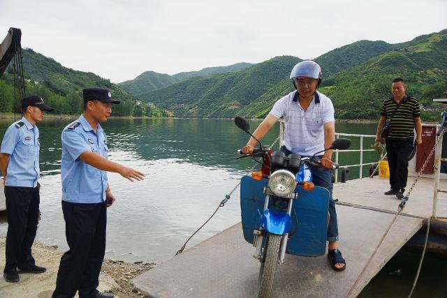 汛期排查渡船安全隐患 严防溺水防事故