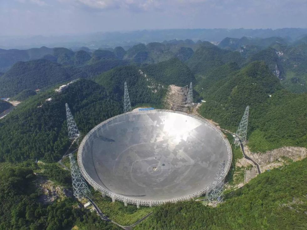 """中国的骄傲、世界最大的射电望远镜,就这么被""""玩坏了"""""""