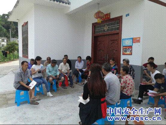 四川巴中恩阳区:部门联动进村入社宣讲安全生产