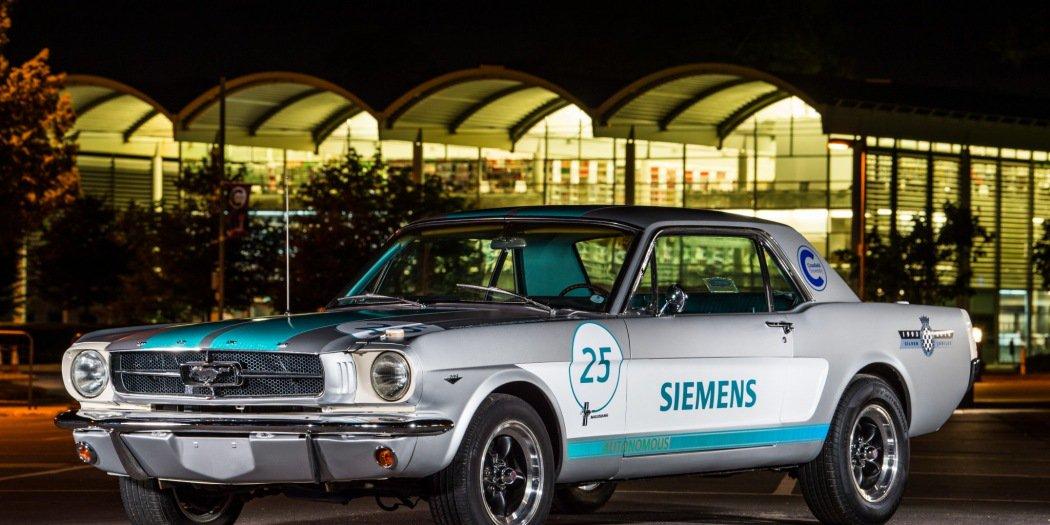自动驾驶1965款野马老爷车将角逐古德伍德爬山赛