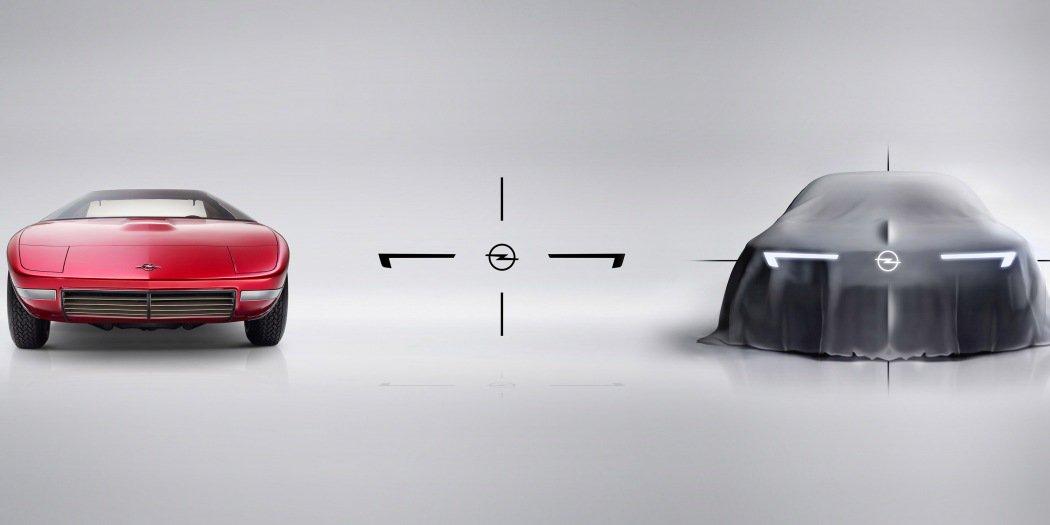 欧宝新款概念车预告图发布 全新设计语言前瞻