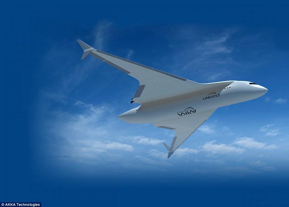 Link&Fly飞机设计公开 将火车与飞机合二为一