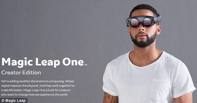 阿里谷歌系Magic Leap曝光AR眼镜 预计今夏发货