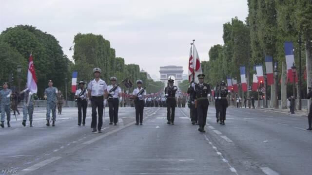 日本受邀参加法国阅兵 将高举太阳旗行进600米