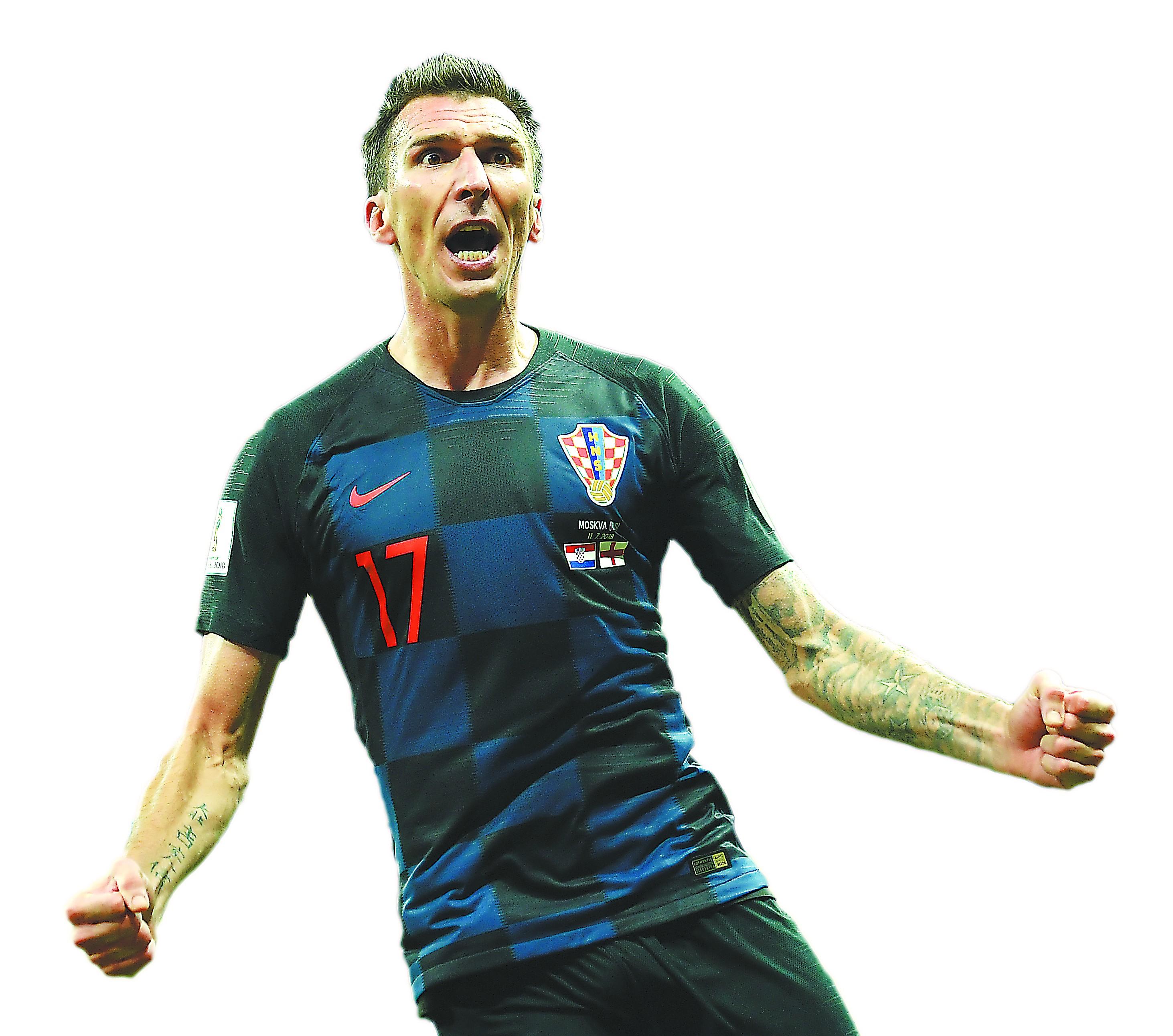 世界杯决赛,克罗地亚来了