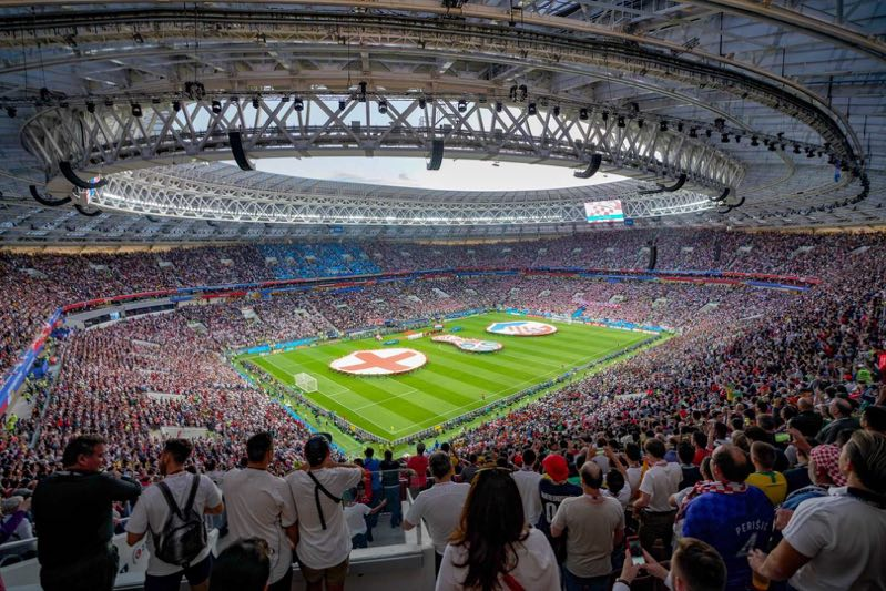 赛场花絮:2:1逆转英格兰 黑马克罗地亚闯入世界杯决赛