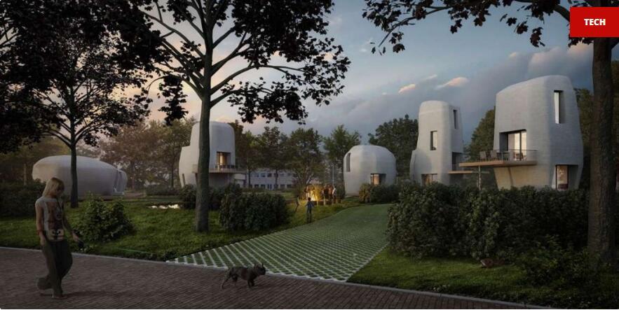 荷兰:南部城市明年推出全球首个3D打印住宅区