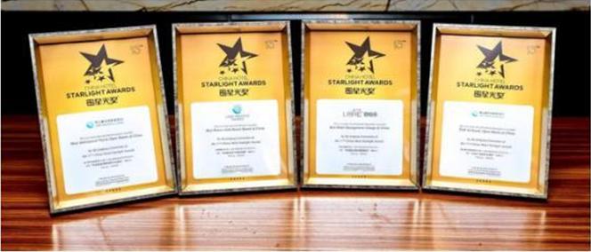 丽柏乐集团荣获中国酒店业奥斯卡—星光奖多项殊荣