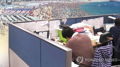 八成韩国职场人士选择暑期休假 平均计划消费59万韩元