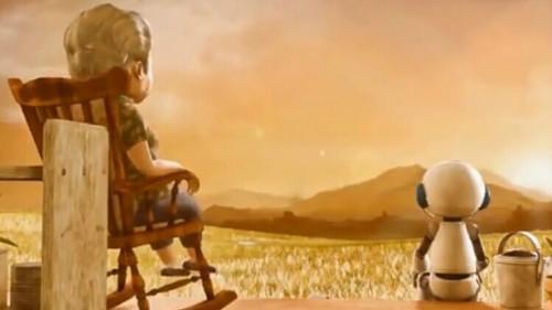 动画短片《机器人与老奶奶》