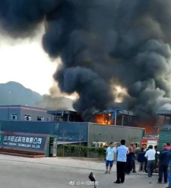 致19死爆燃事故公司主营化工 爆燃物疑有甲醇盐酸