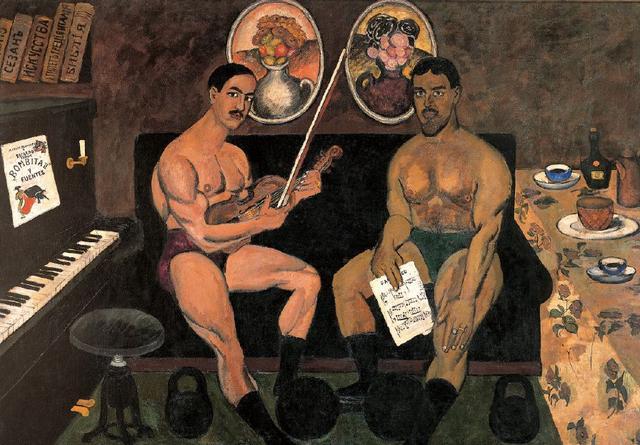 除了世界杯,俄罗斯现代艺术竟然这么辉煌!