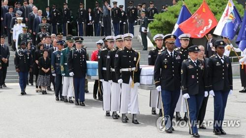 韩美相互移交朝鲜战争士兵遗骸 将加强挖掘合作