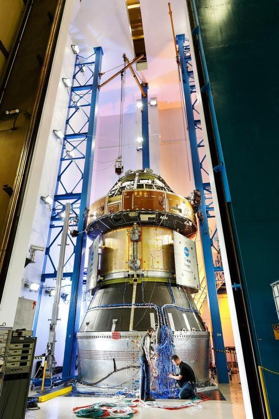 猎户座飞船太贵怕测试损坏 NASA又复制了一个