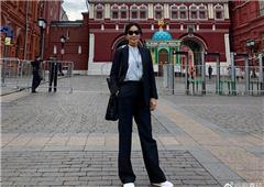 刘嘉玲俄罗斯观世界杯