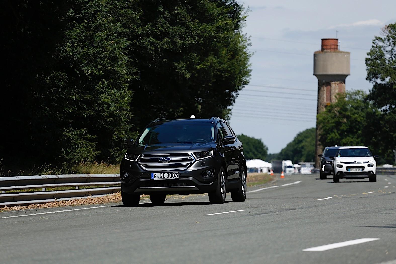 福特/宝马/PSA联合展示V2X技术成果 不同品牌汽车交流