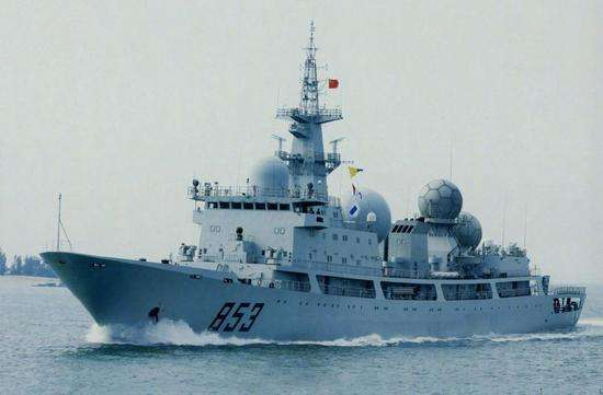 美媒:中国侦察船现身夏威夷海域 抵近侦察环太军演