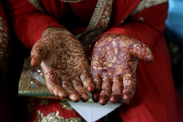 印控克什米尔105对新人举行集体婚礼