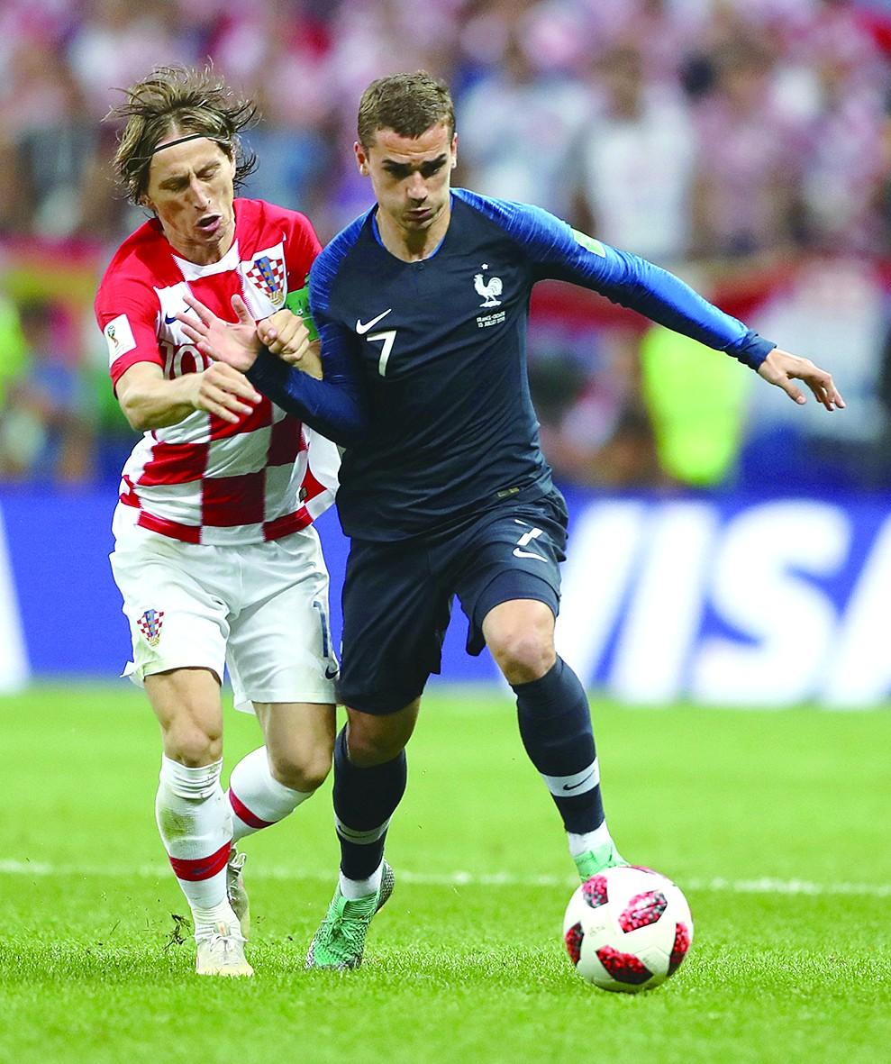 4比2,法国夺冠