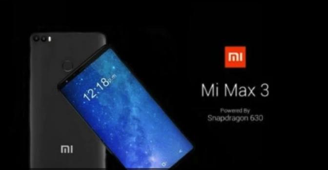 小米Max3真机曝光 屏幕尺寸堪比平板电脑