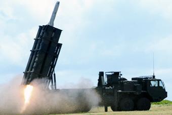 环太军演美日联手反舰 日本动用12式反舰导弹