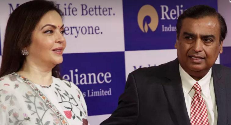 印度富商穆克什•安巴尼取代马云成为亚洲新首富