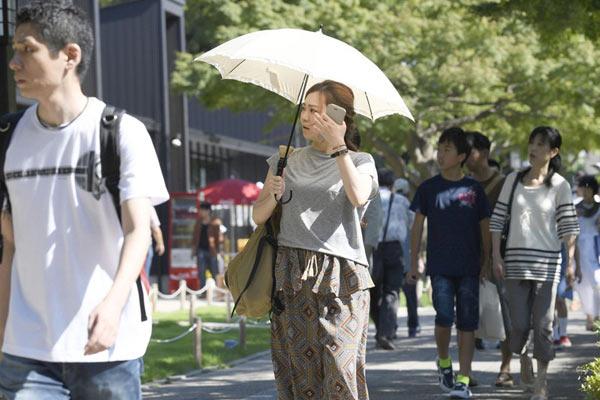 日本暴雨过后又遇罕见高温 5人死亡千余人入院