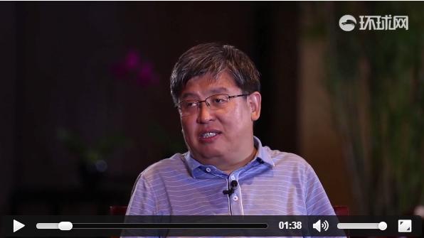 环球网记者采访高邑副县长杨海清