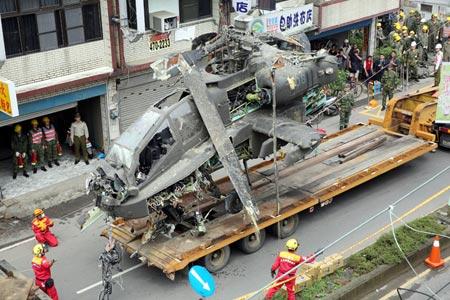 台军阿帕奇部队全能力成军 曾有一架因事故坠毁