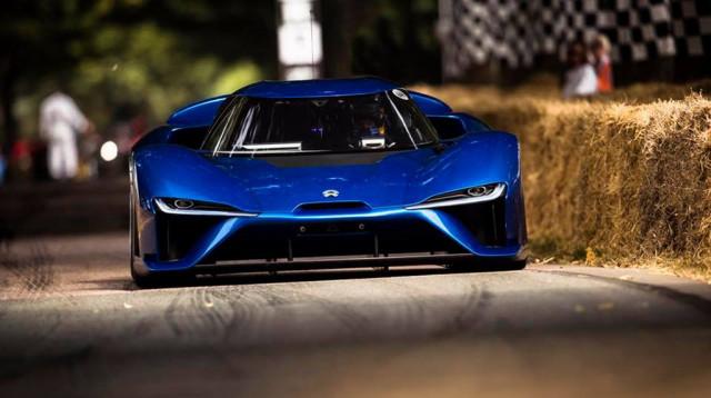 蔚来NIO EP9刷新古德伍德速度节赛道圈速记录